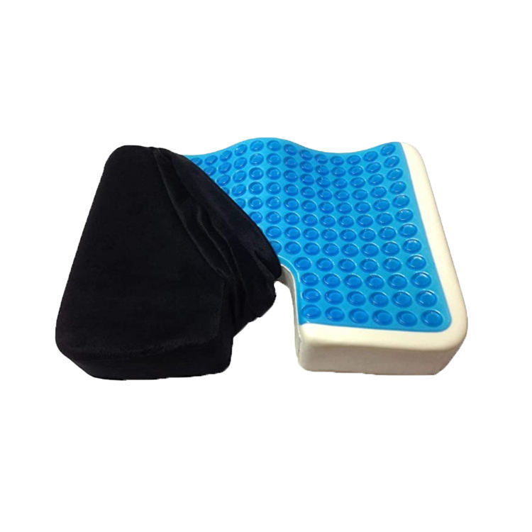 Amazon Hot Selling Gaming Chair Office Chair High Density PU Foam Gel Cooling Car Seat Cushion