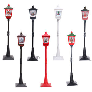 Christmas Decorations light Snow Music Street Lamp Hotel Living Room decoration Lamp