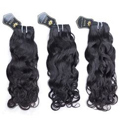 JiFanYao natural wave water wave raw virgin human hair bundles Brazilian