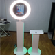 ipad photo booth Customized size with led lamp printer stand
