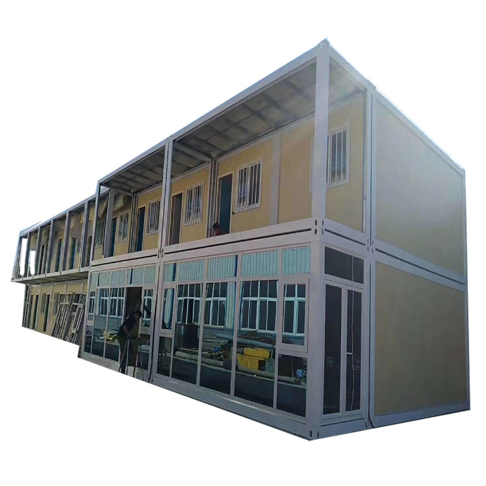 Low Cost OEM Self Customized Container House Flat Pack Prefab Container House Africa hot sale for Rent