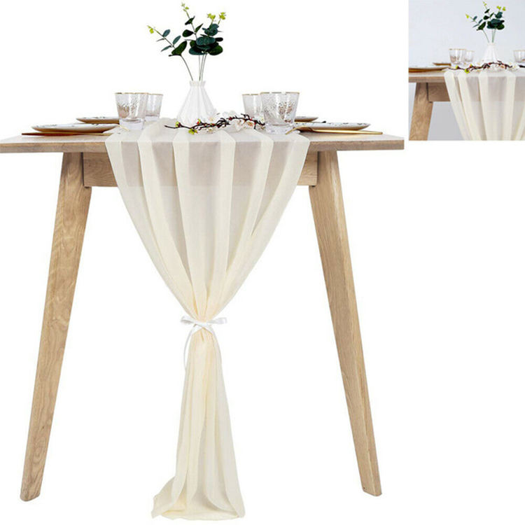 Chiffon Table Runner, Table Runners For Sale, Table Runners Fancy Wedding/
