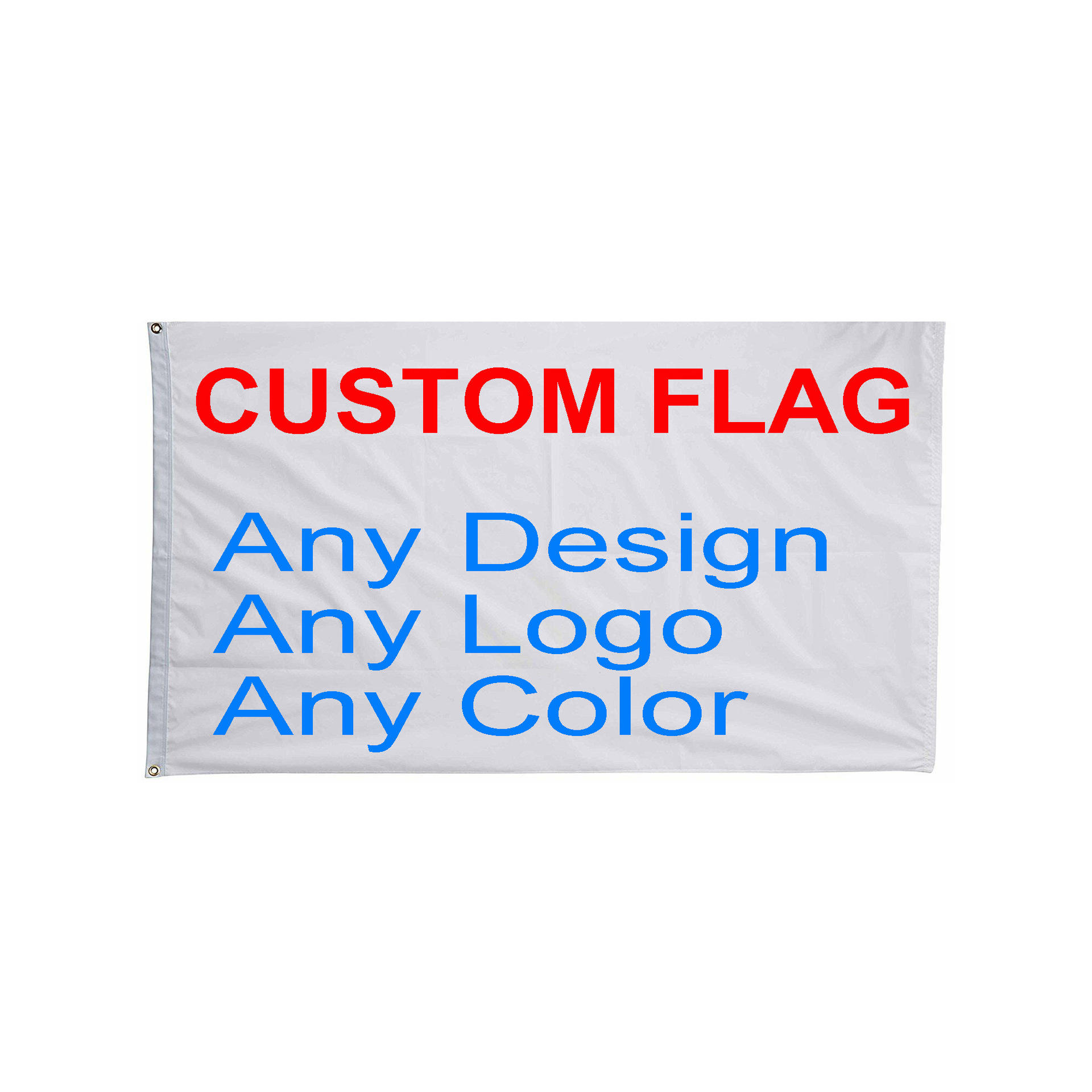 flag manufacturer 48h Fast Delivery Print Your Own Logo Design Words Advertising Flag 3x5 Ft Customized Flags Banners