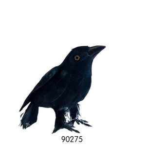 Decorazione di Halloween Realistico Nero Piumato Crows di Halloween Prop decor