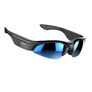 Gogloo 150degree POV Hd Eye Glasses Video Camera DVR Sports Action Camera Polarized Sunglasses with blue 1920x1080p 30fps