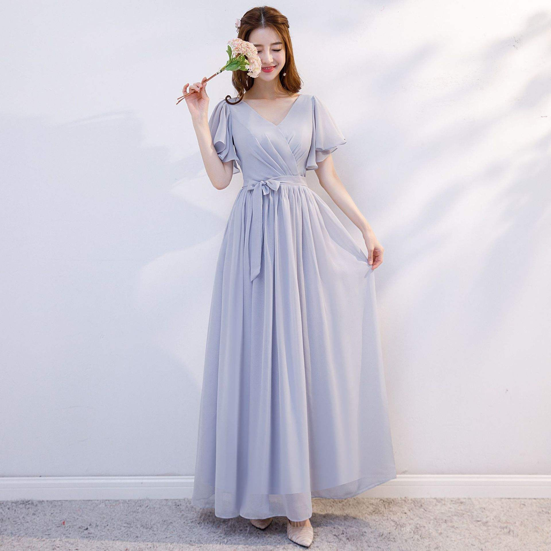 Bridesmaid Dresses High Quality Classic Wedding Party Bridesmaid Long Ball Gown Formal Dresses For Ladies