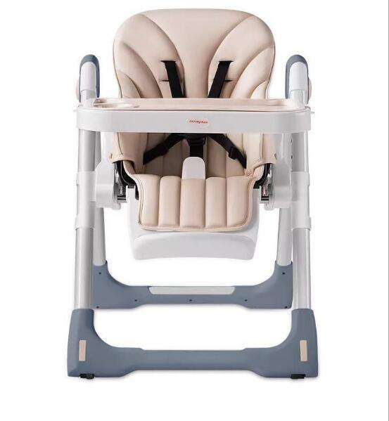 New Product Children Foldable Plastic Booster Dinning Baby High Chair For Restaurant Dining