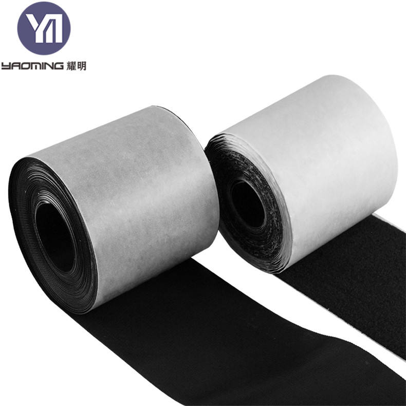 Packaging Customization [ Nylon ] Nylon Soft And Comfortable Heat Resistance TPU Coated Hot Melt Adhesive Film Magic Tape Hook And Loop