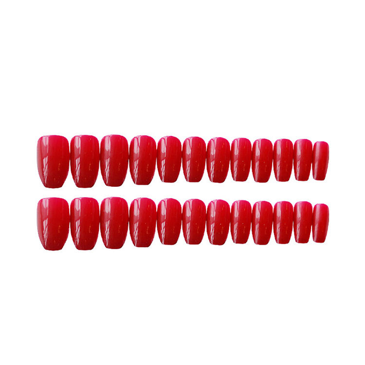New Make False Artificial Fingernails High Quality Abs Material Finger Ballerina Fake Nail