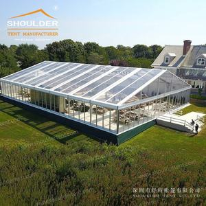 Transparent wedding tent design for wedding party