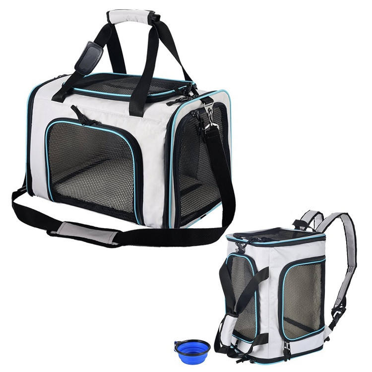 Airline Approved Small Luxury PuppyPets Travel Carry Bag Carriers Backpack Cat Dog Pet Carrier For Pet