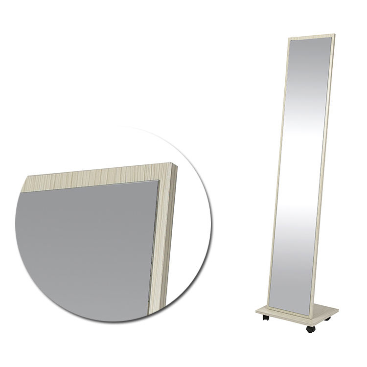 tempered glass lacquer full length mirror