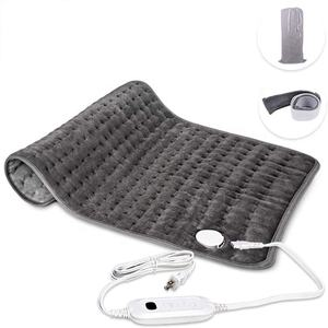 Microfiber with Fabric Straps Single Polyester heated blanket