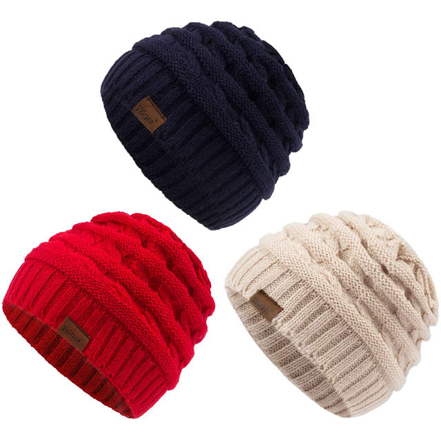 Custom your high quality cashmere crochet felt hats wholesale baby winter cc beanie