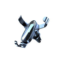 PHP03 Universal Cell Phone Holder Car Air Vent Holder Flexible  foldable  Mini Size Windshield Car Phone Holder Strong Suction