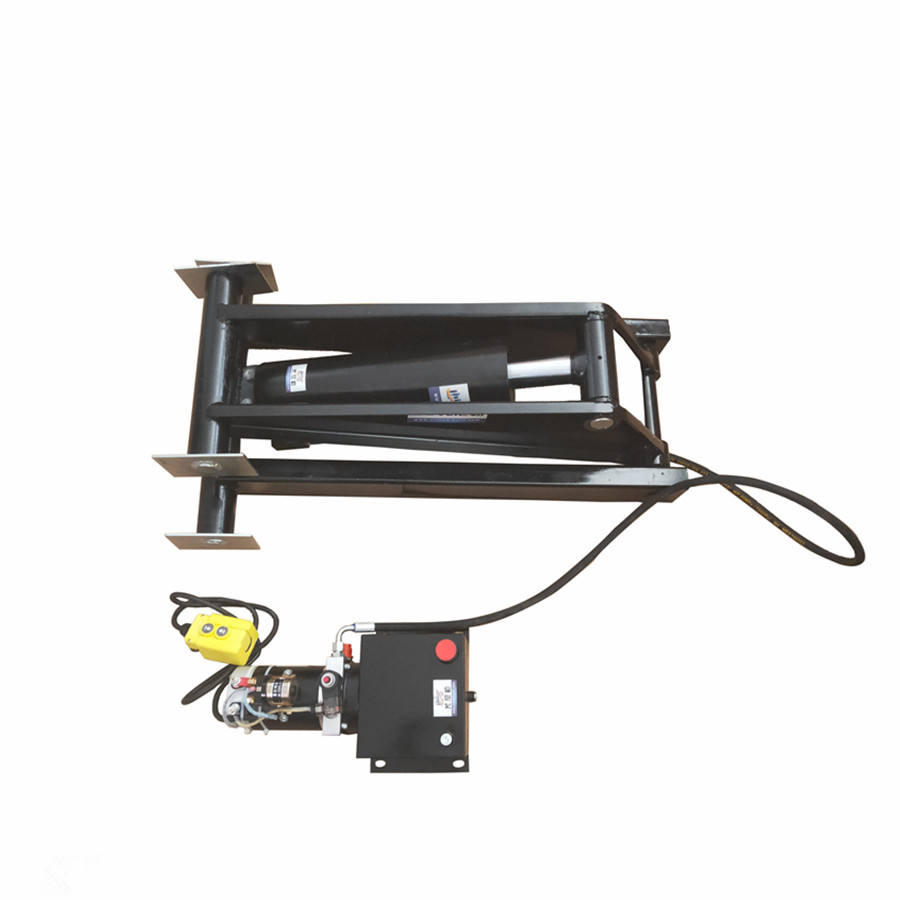 Dump Trailer Hydraulic Scissor Hoist Kit Perfect for 13000ib 6 ton Dump Trucks & Trailers (Standard) Hydraulic power unit