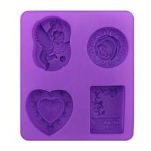 3d Silicone Baby Soap Molds For Wholesale