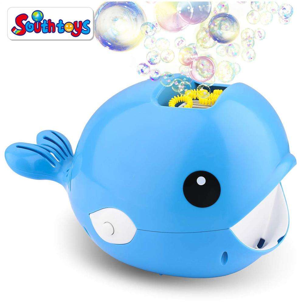 Automatic Bubble Blower Durable Bubble Maker Battery Operated Whale Cartoon Bubble Machine