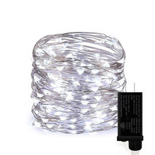 Christmas lights Birthday Party Decoration Lights Plug Series Outdoor Led Copper Wire String Fairy Light