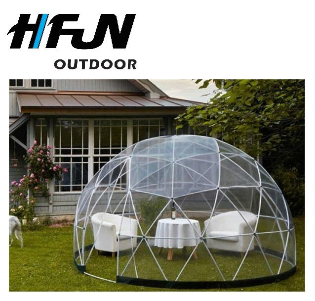 ABS Frame 3.6M Diameter Transparent Heated Domo Geodesico Estructura Dome Party Tent