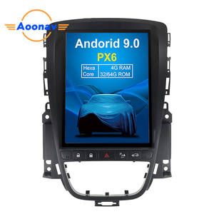 AOONAV Android 8.1 Voiture Lecteur DVD GPS navigation Pour OPEL Astra J 2010 Radio GPS Navigation Système Multimédia