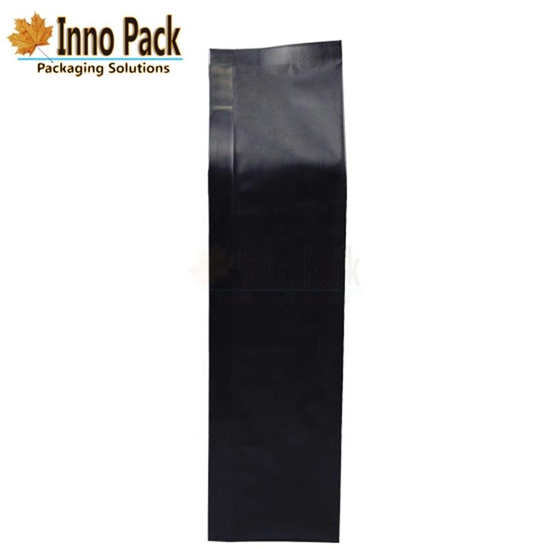 2lb Aluminum Foil Side Gusset Coffee Pouch with Degassing Valve