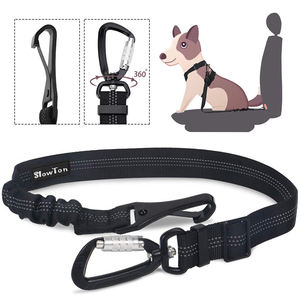 Pro Reflective Pet Safety Car Seat Belt Nylon Rope Dog Leash Hook Harness Headrest Seatbelt for Cars