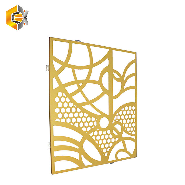 Factory price exterior 장식 custom 홀 perforated mesh panel