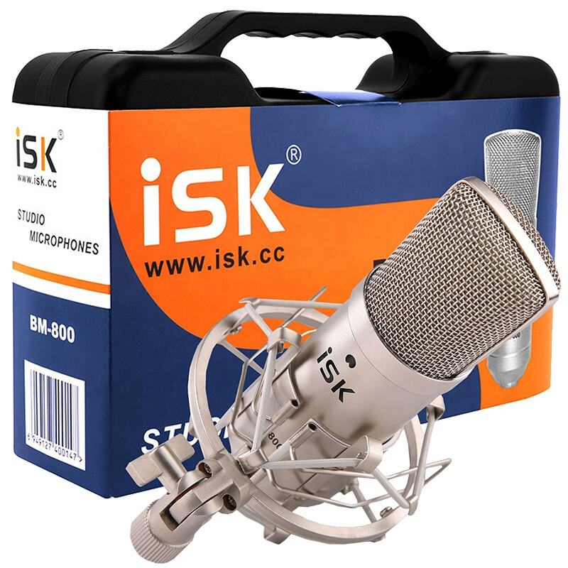 ISK Condenser microphone BM-800 mobile phone Karaoke microphone computer live call mcyy microphone recording