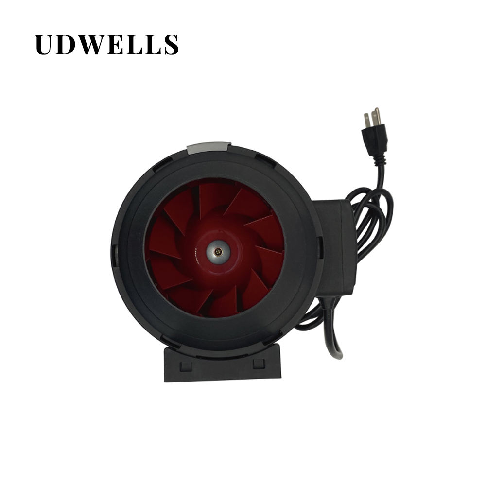 UDWELLS Greenhouse 4 6 8 12 Inch Blower Inline Exhaust Duct Fan