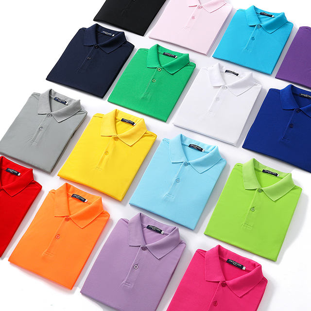 New design embroidered heat transfer polo shirts logo t shirt men custom printing
