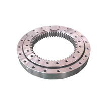 Huge axial and radial force capacity Four point contact ball Slewing bearing