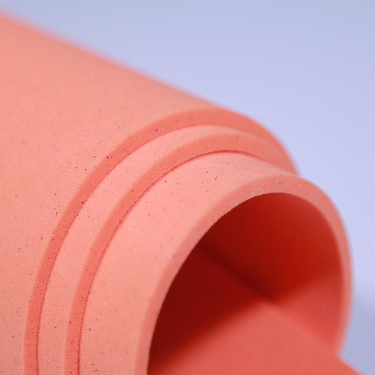 Good Breathable Orange High Density Urethane Polyethylene Eva Foam High Density