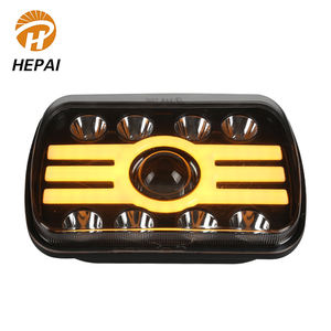 Waterproof IP68 Headlight Trucks Auto 45 W Angel Ring 7 inch CarsLED Work Lamp