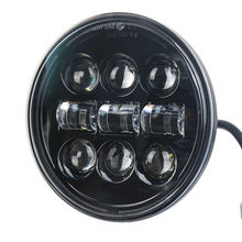 New Product High Low Beam 5.75 Inch Round Led Lights Parts Motorcycle Headlight