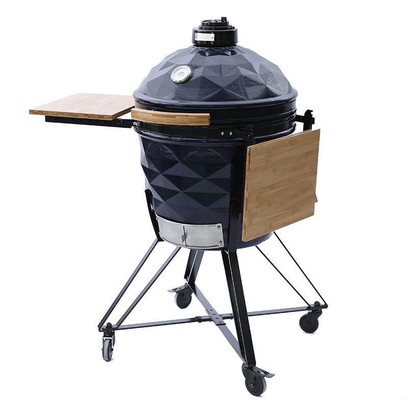 22inch MCD beautiful diamond China Professional Ceramic BBQ grill used for for Outdoor Cooking kamado bono grill