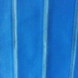 Manufacturer customized bus Yutong folding sunshade blue white gray curtain cloth