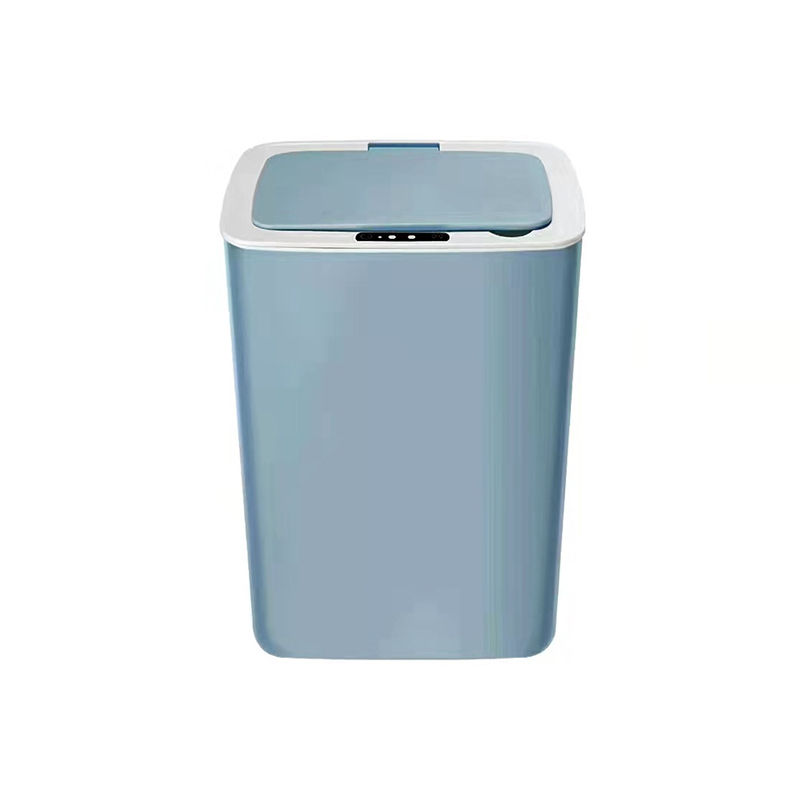 High tech smart trash can 0.3s open the lid USB charging long use time household hotel library silent trash can