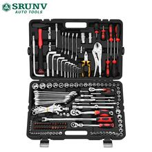 150 Pc Professional Automotive Hand Tools Set Made Of Carbon Steel and CR-V material for auto repair, household decoration