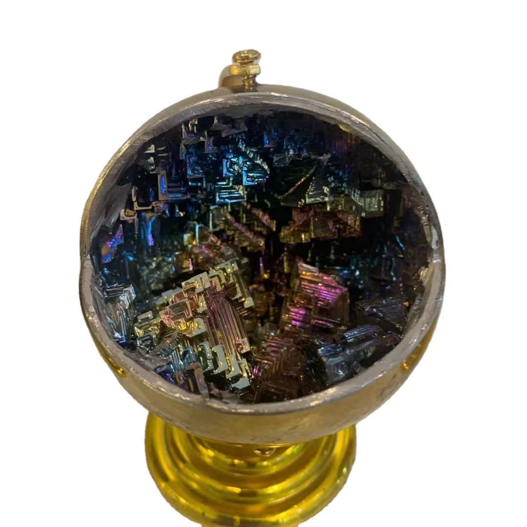 Wholesale Amazon's best-selling bismuth mineral globes for decoration
