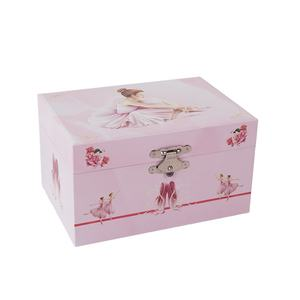 2020 Pretty dancing rotatable ballerina custom music box music box factory for girl's birthday gift