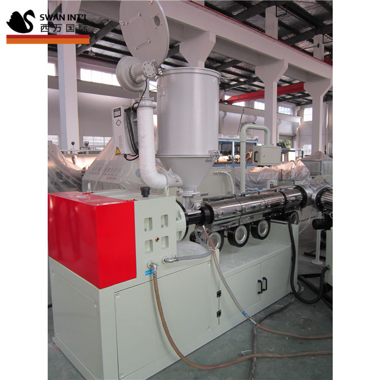 Shanghai SWAN hdpe pipe extrusion line