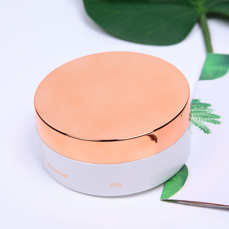 200ml 300ml 500ml big rose gold cosmetic jar