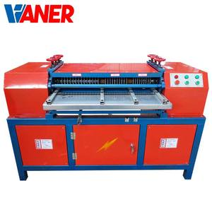 Air Conditioner Radiator Separator/scrap Copper Wire Recycling Machine / Waste Air Conditioner Radiator Separator Machine