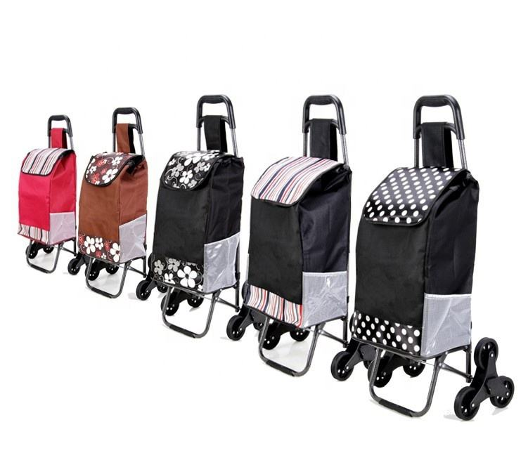 Professional OEM quality trolley wheels shopping cart bag for gift
