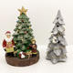 Tree Figurine Resin Tabletop Spruce Tree Decorative Figurine Christmas Tree For Holiday Home Decor