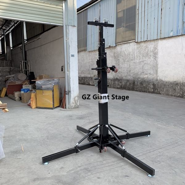 Speaker Truss Stand-- Mini Triangular Steel Truss And Crank Stand System