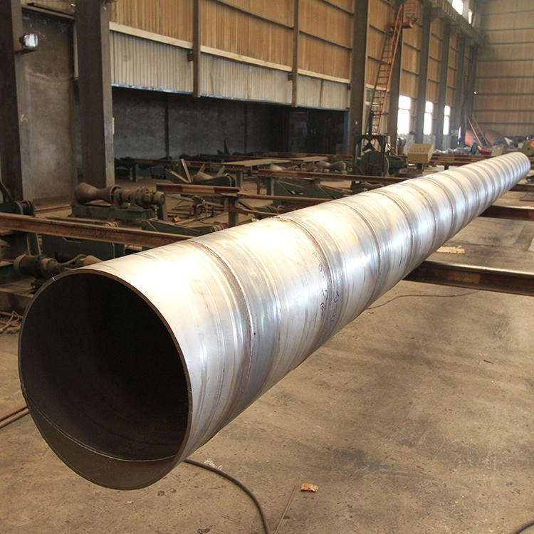 hsaw spiral steel pipe fusion welding band hollow wall hdpe spiral pipe spiral submerged arc welded pipe