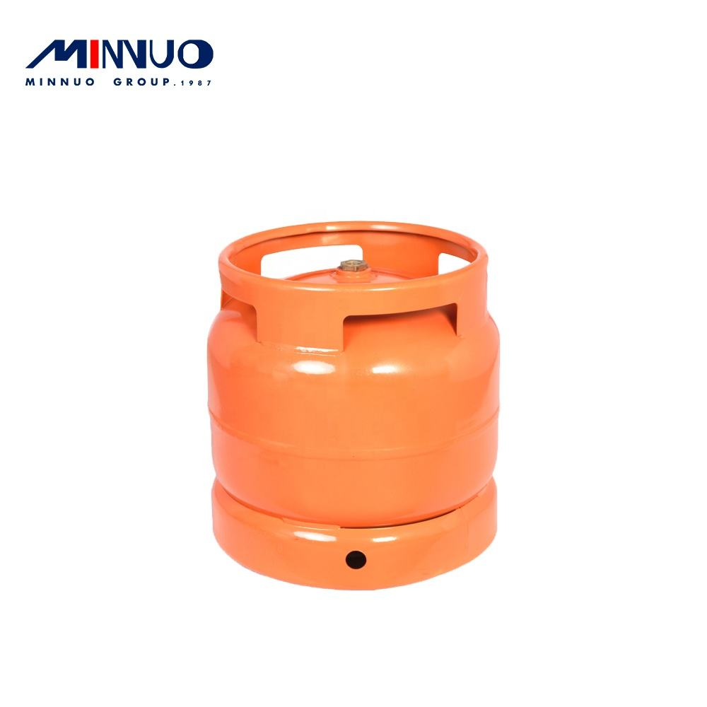 Minnuo brand 2020 new product wall thickness 3mm 14.4L 6kg lpg gas cylinder for sale