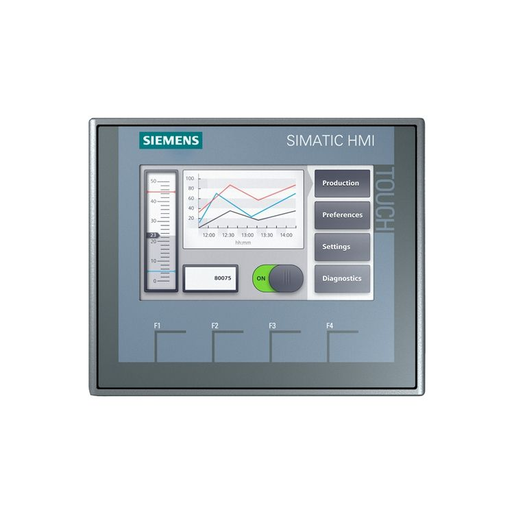 Simplified panel KTP400 button + touch operation 4 inches touch screen KTP400 6AV21232DB030AX0